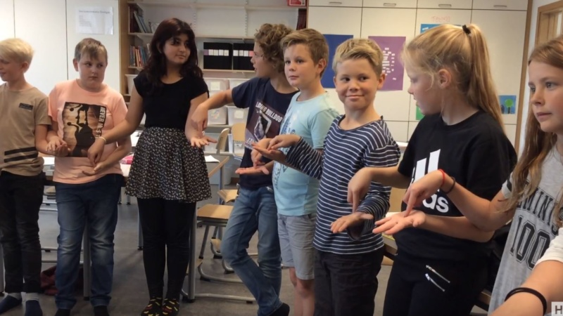 Brain breaks – Fingerfällan