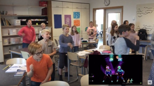 Brain breaks – Just dance