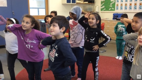 Brain breaks – Move and freeze